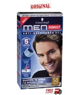 Schwarzkopf Men Perfect  For Men  Professional  Hair Color Gel - Light B... - $19.77