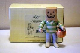 Lenox 2012 Last Minute Costume Figurine NIB - $18.01