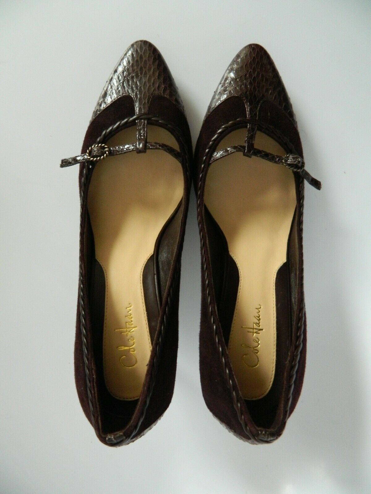 "New Cole Haan Womens 2.5"" Heel Shoes Size 7B"