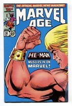 MARVEL AGE #38 He-Man Masters of the Universe Preview 1986 - $20.18