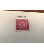 Italy Segnatasse 20L mnh 1955 #2   stamps - $1.30