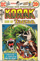 Korak, Son of Tarzan Comic Book #48, DC Comics 1972 FINE+ - $6.66