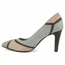 Rialto Morgana Pointed Toe Colorblock Classic Heel  Ash/multi 7.5 US - $41.58