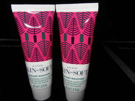 Avon Holidays 2017 Mini Hand Creams Skin So Soft Moisture 1.5 Oz (Lot Of Two) - $3.49