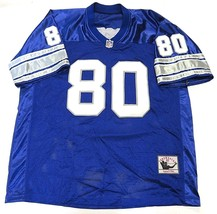 NFL Mitchell & Ness Throwbacks Authentics Blue #80 Rogers Men's Football Jersey - $79.15