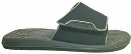 Timberland Mens Sandals Active Cabo Slide Black Leather Retro 40528 Casu... - $39.99
