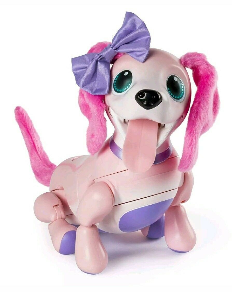 Zoomer Playful Pup Interactive Robotic Dog with Realistic Movement Sounds Toy
