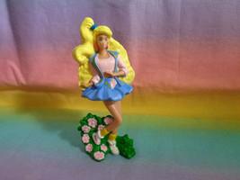 Vintage 1991 McDonald's Mattel Barbie PVC Figure Cake Topper in Reeboks - $2.92