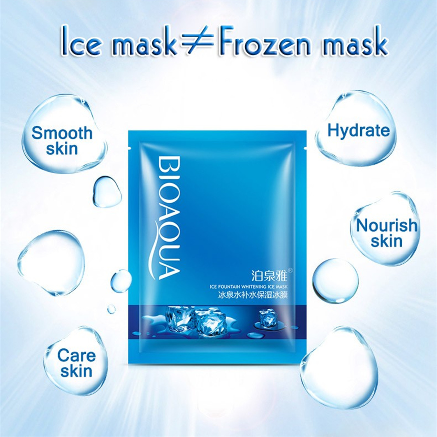 Ice Fountain Whitening Hydrating Moisturizing Facial Mask