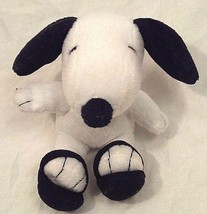 "Peanuts Snoopy Stuffed Beagle Plush Soft Toy Beach Charlie Brown 6"" Advertising - $4.93"