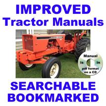 Allis Chalmers 720 TRACTOR FACTORY SERVICE MANUAL & PARTS MANUAL -2- MAN... - $22.95