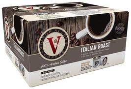 VICTOR ALLEN ITALIAN ROAST SINGLE SERVE KCUP 80 CT COMPATIBLE W 2.0 K BR... - $29.88