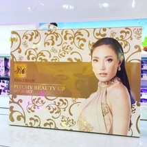 Pitchy Beauty Up Real Cream Gold Set (6 Pcs) Whitening Brightening ANTI-AGING - $95.00