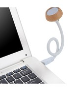 1W Flexible USB Wood LED Reading Lamp Night Light for Computer Notebook ... - €9,08 EUR
