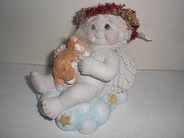 Dreamsicles Snuggle Time 11934 Cat Clouds Angel Collectible Cast Art Ind... - $14.95