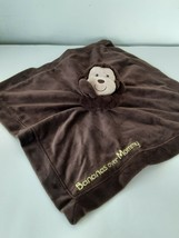 Carters Monkey Baby Lovey & Security Blanket Rattle Bananas Over Mommy - $10.58
