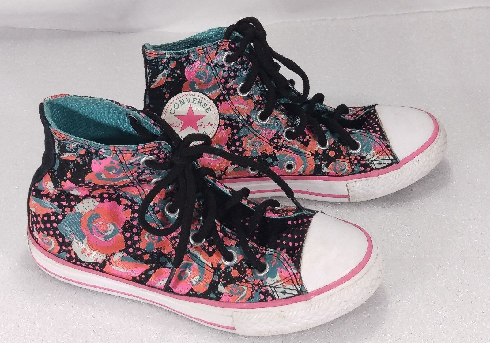f3e2dcb85c7a Converse All Star Youth 1 Chuck Taylor Black and 50 similar items. S l1600