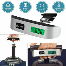 50kg/10g Portable Travel LCD Digital Hanging Luggage Scale Electronic We... - $10.93