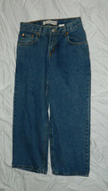 Youth Boys Classic LEVIS 550 Brand Denim Jeans Relaxed Fit size 9 Husky ... - $15.85