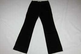 GAP Flare Black Corduroy Pants Size 10 R - $9.85
