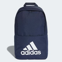 Adidas Classic Backpack Rucksack Work Travel Gym School Bag - DM7677 - Navy - $30.91