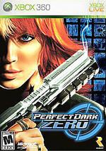 Perfect Dark Zero (Microsoft Xbox 360, 2005) DISC IS MINT - $6.18