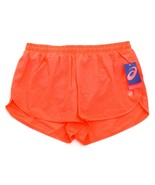 Asics Fiery Coral Brief Lined Split Running Shorts Men's NWT - $37.49