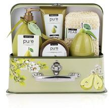 Christmas Gift Luxury Spa Gift Basket, PURE Spa Basket -Bath and Body Gi... - $44.99
