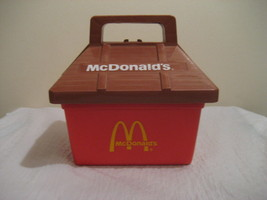 Mc Donalds Play Tote Lunchbox From Playskool 1975 A Rare Find - $44.99