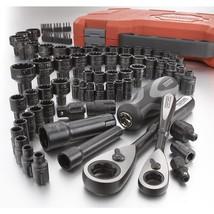 Craftsman Universal Socket Set 85 Piece Max Axess MTS Adapters Ratchet M... - $127.00
