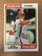 1974 Topps #95 Steve Carlton Baseball Card NM Condition Philadelphia Phillies - $4.99