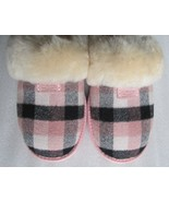 UGG Slipper Shoes Cozy Plaid Flannel NEW - $130.00