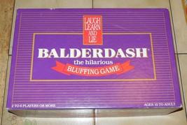 Vintage Balderdash Board Game 100% Complete By Gameworks 1984 - $23.38