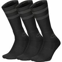 NIKE SB Socks 3 Pack Crew Black Anthracite SIZE L New Skateboard Sox image 4