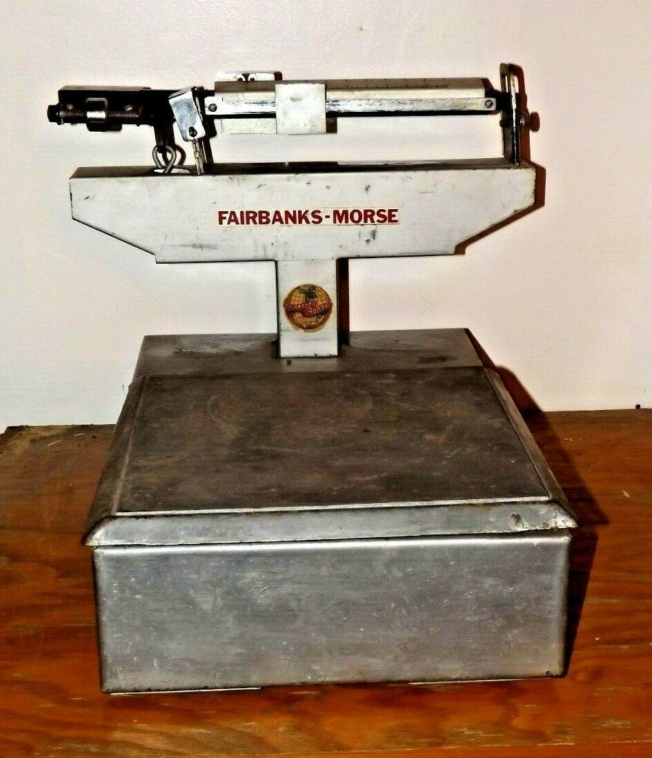 Antique Fairbanks-Morse 100 Pound Scale AB283A