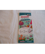 Division Wipe Clean Pad English & French Ages 8+   Beaver Books - $2.23