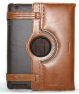 ❤️CUTTER & BUCK Legacy Cognac Genuine Leather iPad 2 Case Stand EXCELLEN... - $23.74