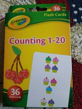 CRAYOLA LEARNING FLASH CARDS Age 3+, 36 Cards/Pk, Select: Learning Pack - $15.99