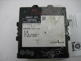 Body Control Module Computer Toyota Camry 2007 07 8999033010 844678 - $81.67