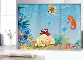 3D Schöne Seefisch 98667 Fototapeten Wandbild Fototapete BildTapete Familie - $52.21+