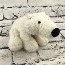 Webkinz Ganz Polar Bear Plush White Stuffed Animal Soft Arctic Nature Toy - $7.91