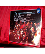 New! Giuseppe Verdi's 'UN BALLO IN MASCHERA' on Laser Disc, SEALED Box Set - $6.95