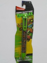 Nickelodeon Teenage Mutan Ninja Turtles 6 Color Pen Brand New Seal  - $12.86