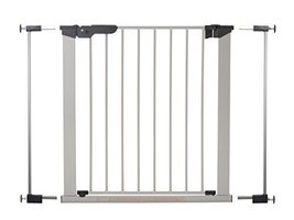 BabyDan Premier Walk Thru Pressure Gate Including 2 Extensions. Fits Spa... - $63.99