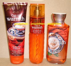 Cup of Warmth Bath and Body Works Fragrance Mist Body Cream Shower Gel - $55.00