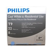 391169 Philips FC8T9/COOL White Plus 22W Circular Fluorescent Lamp - $9.25