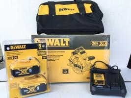 DEWALT 20V MAX 7-1/4 in. Cordless Circular Saw DCS570B w/ (2)Batteries &... - $318.49