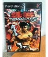 Tekken 5 (Sony PlayStation 2, 2005) TESTED - $23.37