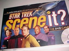 Star Trek Scene It The DVD Game Mattel New NIB - $29.69