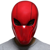 Red Hood Mask Batman Cosplay PVC Full Head Helmet Halloween Action Figur... - $76.36 CAD